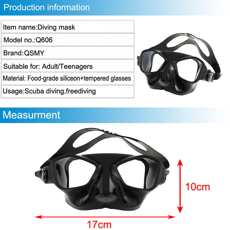 High Quality freediving mask