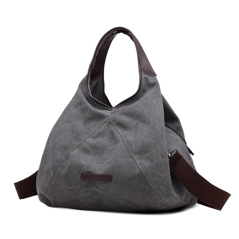 2017 Hot Female Canvas Hobo Bag Women Famous Brand Handbag Designer Shoulder Bags Small Casual Crossbody Bag Ladies Tote Bags