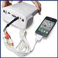 Hot Sale Cheapest E03 Portable Mini LED Projector HD Video Proketor Support 1080P Projektor Proyectores VGA USB HDMI TV AV