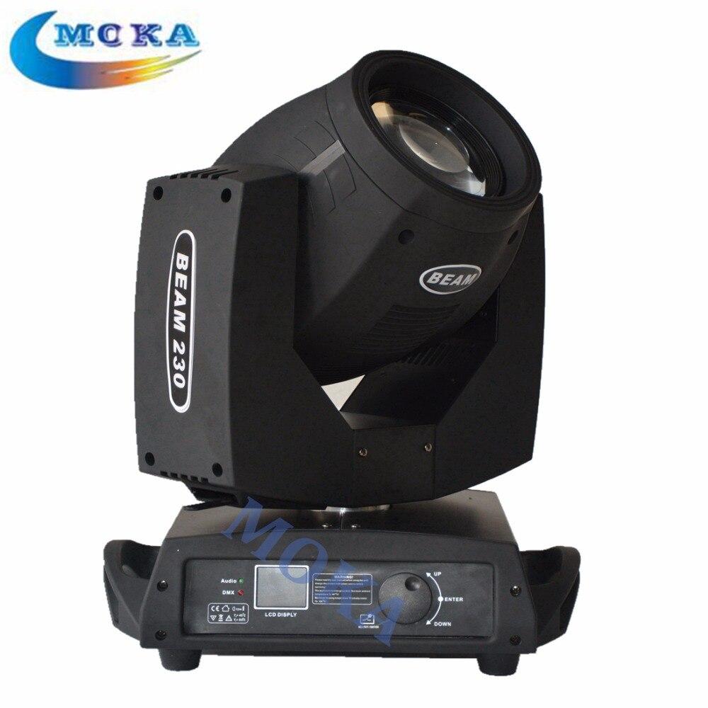 2pcs/lot Sharpy 7R Beam Moving Head Light Cheap Moving Head Lights for dj Equipment 8x sharpy light beam 230w 7r zoom moving head light dj equipments lightings