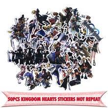 50 pçs reino corações brinquedo engraçado para diy scrapbooking álbum bagagem do carro portátil motocicleta notebook decalque adesivo à prova deágua e0033