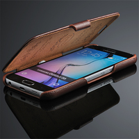 Fashion Phone Case For Samsung Galaxy S6 Genuine Leather Cover Luxury Protective Magnetic Coque For Samsung
