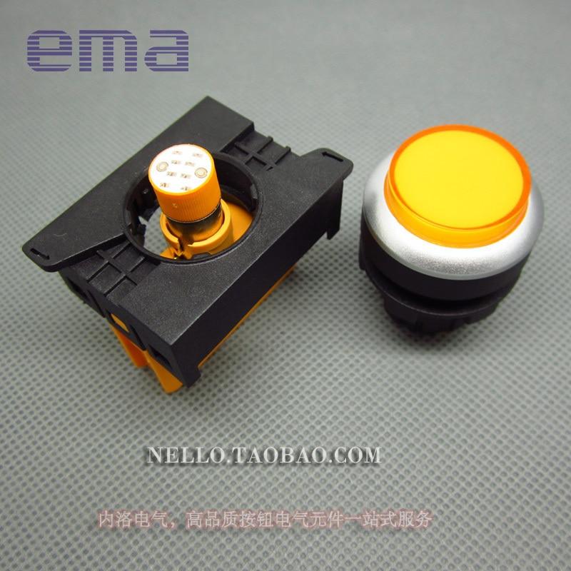 [SA] EMA 22 мм светодиодный s E2I2* L Цвет красный, желтый синий и белый светодиодный DC6/12/24 V огни- 10 шт./лот