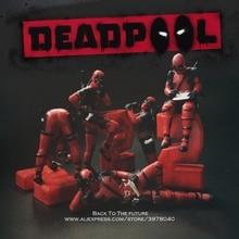 Disney Marvel X-Men 6-8cm Deadpool 2 Action Figure Posture A