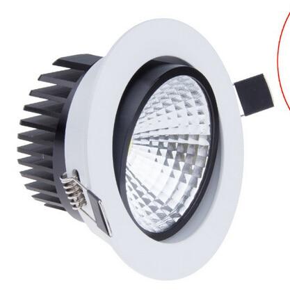 LED Downlight 5W 7W 9W 12W COB Zapuštěná LED Stropní svítidlo - LED Osvětlení