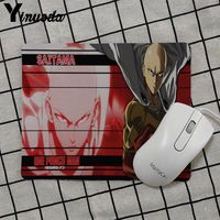 Yinuoda 2018 New One punch man Gamer Speed Mice Retail Small Rubber Mousepad Keyboard Mat Table mat anime mouse pads 5