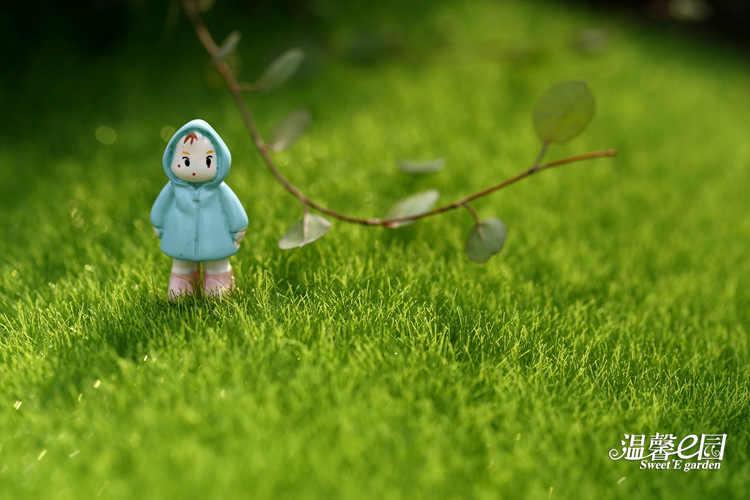 2 pièces Micro paysage créatif Simulation de mousse mousse écologique bouteille décoration 15 cm * 15 cm Mini jardin