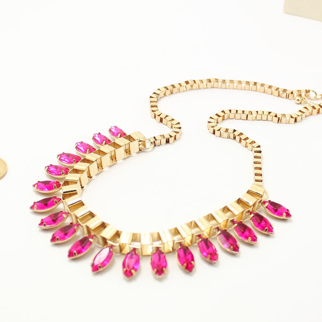 2013 Autumn New Arrival Fashion Necklace 5 Colors For Choise Wholesale #SP070