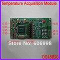 DS18B20 Multi Channel Temperature Acquisition Module 4 Channel Data Acquisition 485 Long Distance Transmission MODBUS