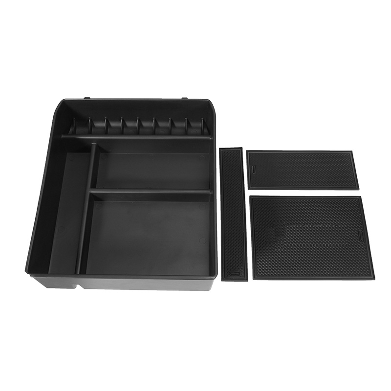 Car Central Armrest Box Storage Glove Stowing Boxes Container for Toyota Land Cruiser Prado without Refrigerator 2004-2009 for land rover evoque 2009 2013 central storage pallet inside armrest organizer container box