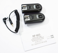 EDT Yongnuo YN RF 603 C3 Wireless Flash Trigger Shutter Release Remote Control For Canon C3