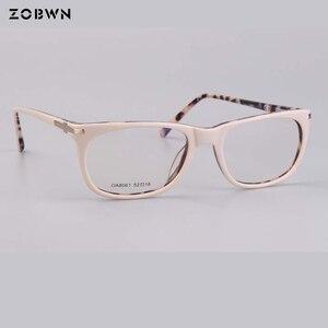 Image 4 - แฟชั่นคุณภาพสูงกรอบแว่นตาคอมพิวเตอร์ Prescription สายตาสั้นแว่นตาแว่นตาแว่นตาสีกากีรอบแว่นตา cat eye