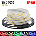 DC12V Bande Led Strip Waterproof 5630 5M 300LED Flexible Neon Fita Led Tape Ruban LED Light Christmas Lights For Home Decoration