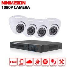 8ch security camera system AHD DVR 1080P 3000TVL Kit  HDMI AHD DVR 2.0MP  AHD Camera indoor  CCTV Camera Security System