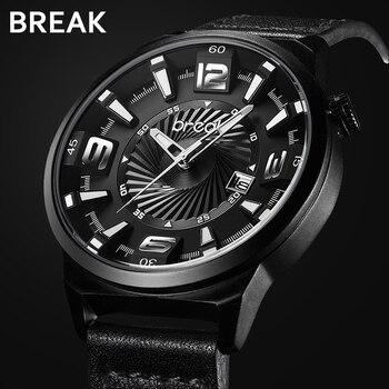 Luxury Casual Calendar Japan Quartz Sports Wrist Watch