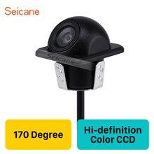 Seicane 170 Gradi ad alta definizione CCD A Colori Auto sistema di Assistenza Al Parcheggio HD di Backup Telecamera di retromarcia Con Impermeabile Visione Notturna