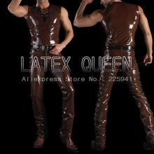 nature latex clothes suits(Shirt and Jeans)