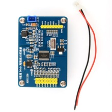лучшая цена Sensor module ADS1256 24 bit ADC data conversion high precision acquisition card 8 channel analog power supply