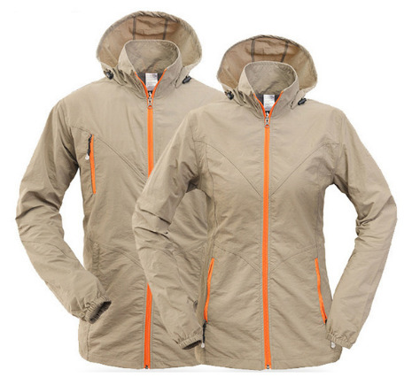 2017 New Quick Dry Women Men Hiking Jackets Spring Summer Breathable Hooded Outdoor Sports Coats Hiking Camping Jacket RM049