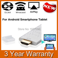 Wireless Wifi HDMI Display Dongle Adapter Support Mirror Function Airplay For Iphone 4S 5S Ipad Mini
