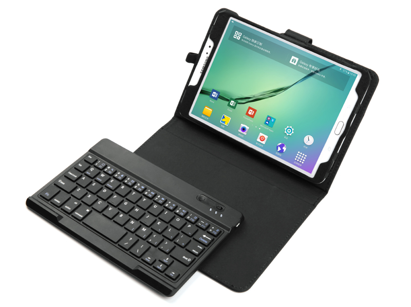 Russian&Other Letter Removable Wireless Bluetooth Keyboard&PU Leather Stand Case For Samsung Galaxy Tab S2 8.0 T710 T715 Tablet bluetooth keyboard for samsung galaxy note gt n8000 n8010 10 1 tablet pc wireless keyboard for tab a 9 7 sm t550 t555 p550 case