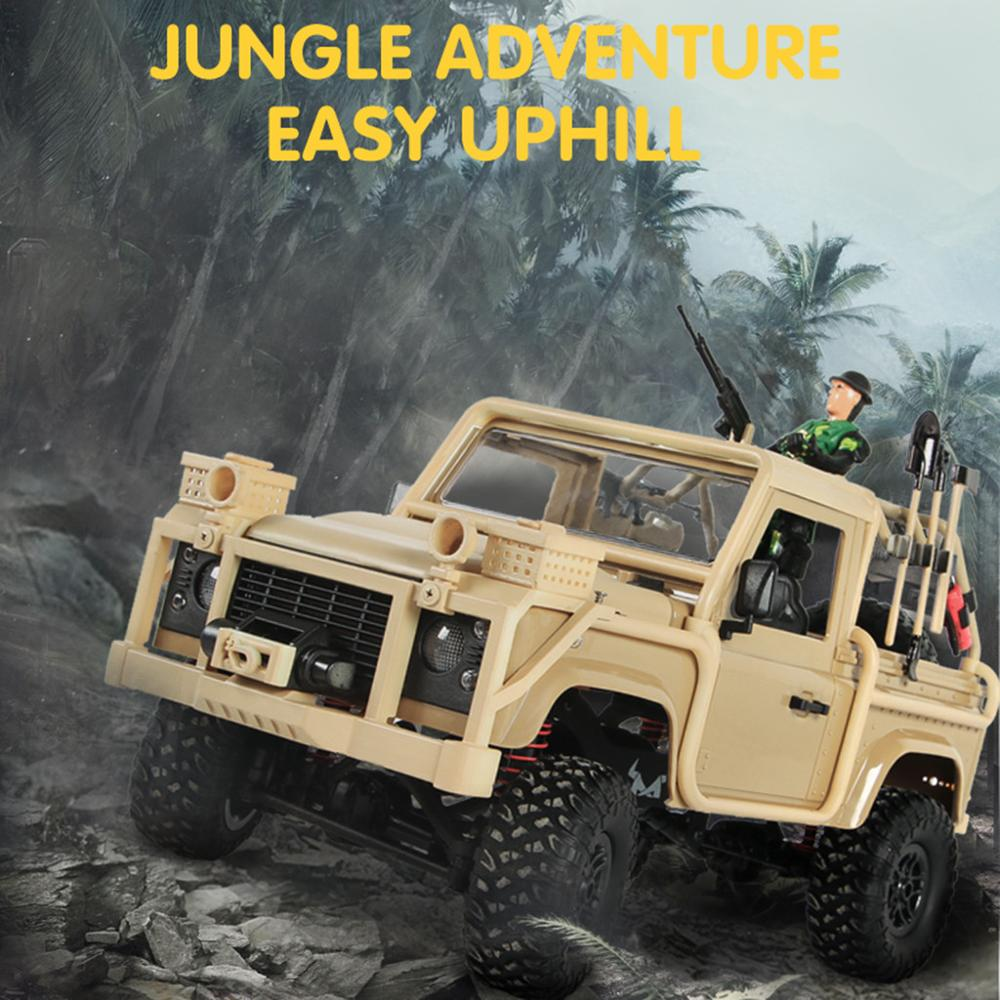 Image 2 - MN 96 RSOV 1/12 2.4G 4WD Crawler RC Car Remote Control Jeep With LED Light-in RC Cars from Toys & Hobbies