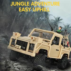 Image 2 - MN 96 RSOV 1/12 2.4G 4WD Crawler RC Car Remote Control Jeep With LED Light