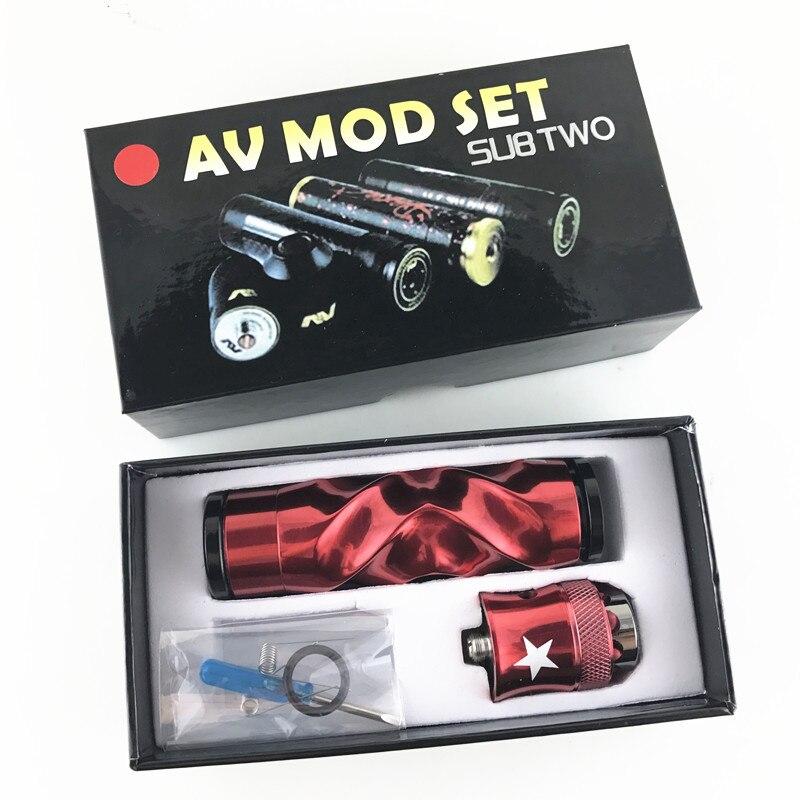 2 pc AV De Torsion MOD kit Série Twist kit Diamètre atomiseur vaporisateur avec RDA atomiseurs Vaporisateur stylo Kits Cigarette Électronique