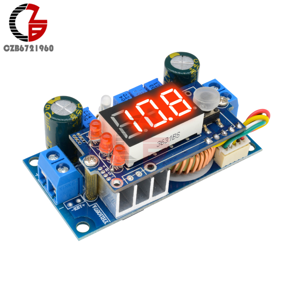 5A MPPT Solar Controller DC-DC LED Digital Step Down Buck Converter Power Transformator Versorgung CC/CV Batterie Lade Test für Auto