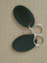 1000 ชิ้น/ล็อตสีดำยาวระยะทางกันน้ำ ABS แท็ก UHF Alien H3 RFID Keyfob Keychain Key Fob: