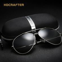 HDCRAFTER The New European And American Sunglasses Men Women Fashion Polarized Sunglasses gafas oculos de sol masculino E014-3