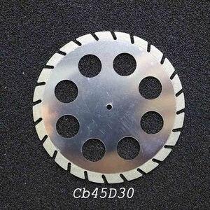 Image 4 - מעבדת שיניים ליטוש יהלומים כפול צדדי דיסק חיתוך שיניים חיתוך טיח דיסק גלגל שיניים מעבדה כלי 40 & 45 * 0.30mm