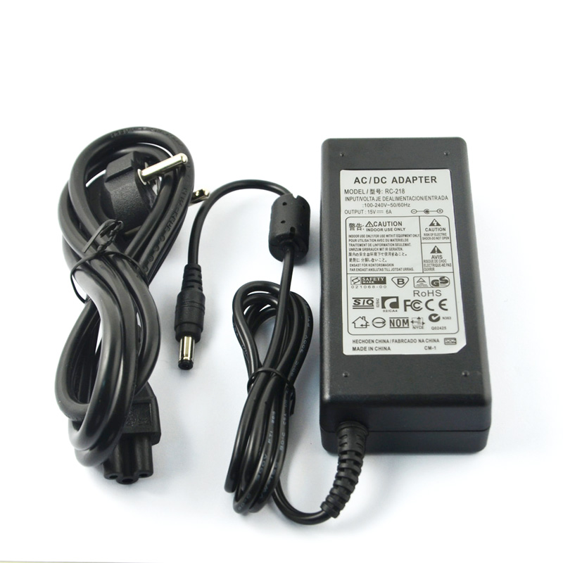 HTRC 15V 6A AC Adapter Power supply for RC Balance Charger 80W B6 V2 Imax B6 ( 12V 5A AC to DC adapter optional) suny 12v 5a ac power adapter for rc lithium battery balance charger black 100 240v us plug