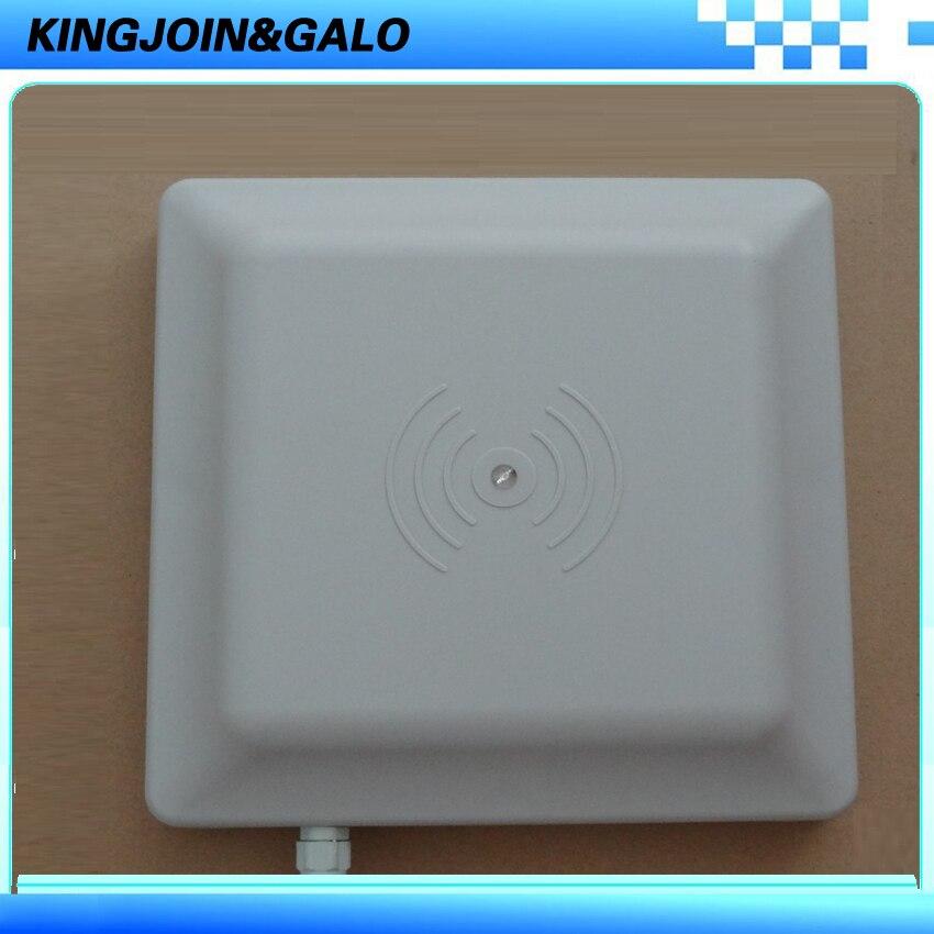 Meilleur Qualité UHF RFID Lecteur de Carte 6 m longue portée avec interface RS232/RS485/Wiegand Lecteur Pour Parking Système de gestion