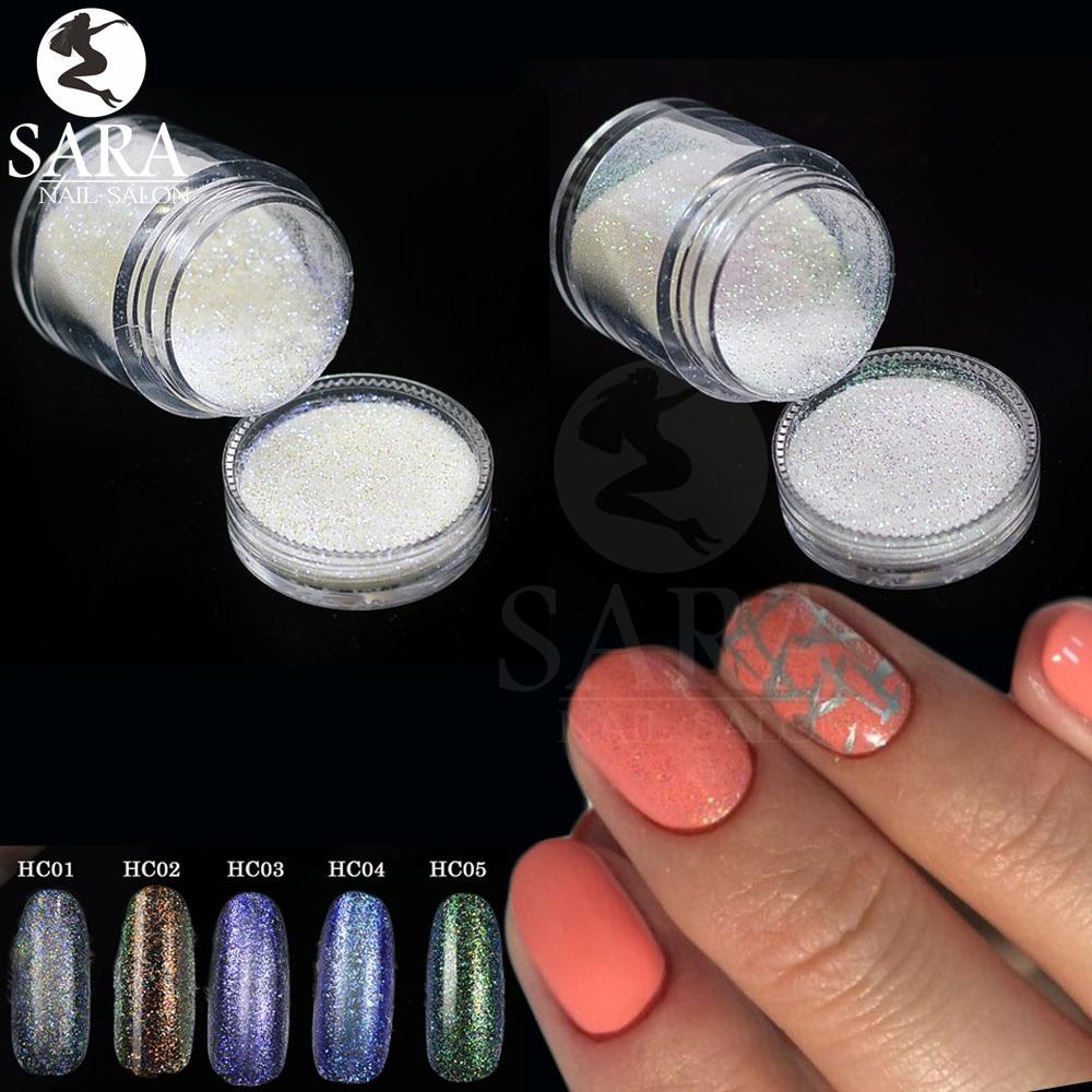 SuperDeals - Nail Salon 1x 10g jar Sparkly Mermaid Effect Glimmer ...