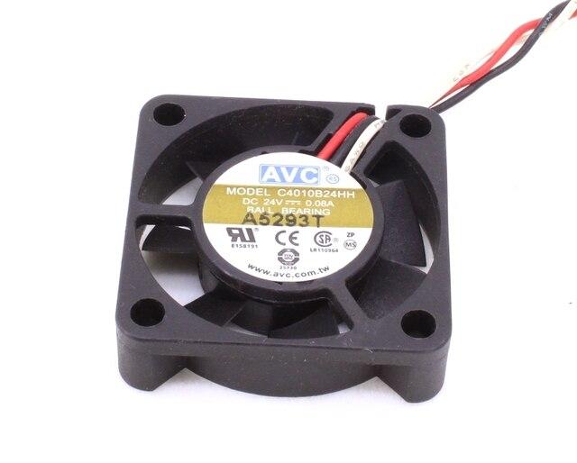 C4010B24HH 4010 4 cm 4 cm dupla bola 3 fios transdutor de velocidade do ventilador de refrigeração