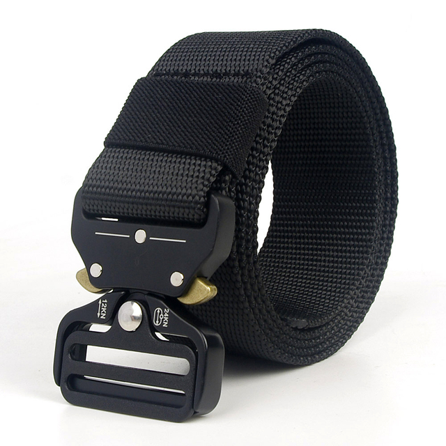Tactical Belt Men Adjustable Heavy Duty Military Tactical Waist Belts with Metal Buckle Nylon Belt Hunting Accessories 1