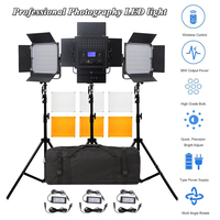 Pixel K80 LED Video Light 3 in 1 Kit Photography Lighting 2.4GHz Wireless Control with Tripod 600 LEDs 5500K CRI 95 Studio Light