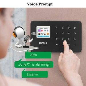 KERUI W18 система сигнализации для дома охранная сигнализация Жилая датчик движения приложение управление умная GSM WIFI система охранной сигнали...