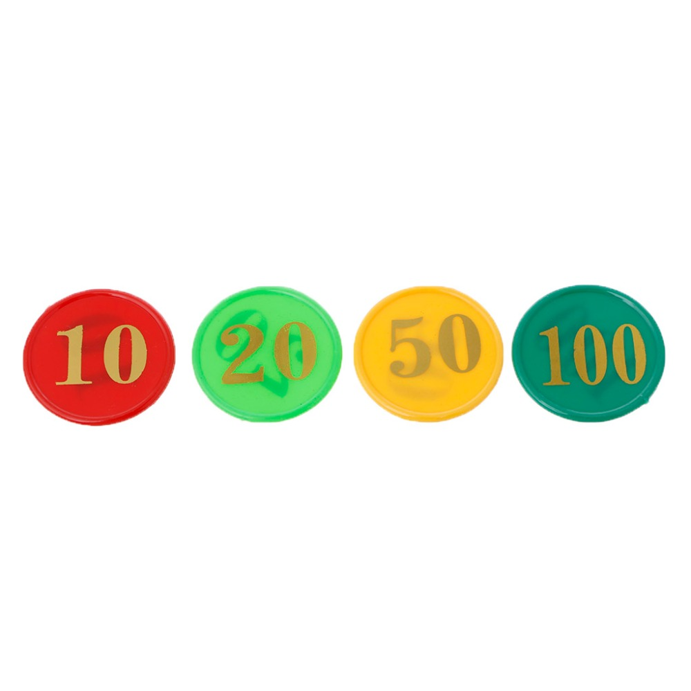 Plastic Bingo Chips Number Markers For Bingo Game Counters Games 4 Colors Small/Big Face value 160PCS/SET A28