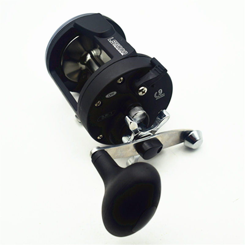 ФОТО Latest Trolling Reel Fishing TSSD 3000L-5000L Black Right Hand Casting Sea Fishing Reel Saltwater Baitcasting Reel Coil FA-007