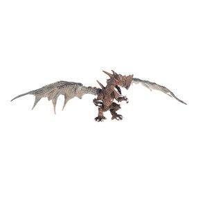 Image 5 - 4 개/대 클래식 diy 조립 공룡 드래곤 날개 몬스터 액션 피규어 쥬라기 시대 교육 어린이 베이비 완구