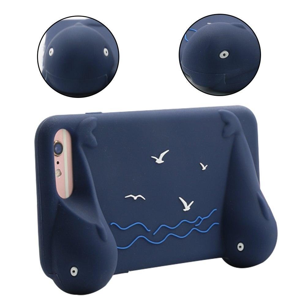 Case for iPhone 7 Plus 6S Plus 6 Plus Fulll Protective Case Cover for iPhone 7 Plus with 2 Grips for Gaming iPhone Gaming case