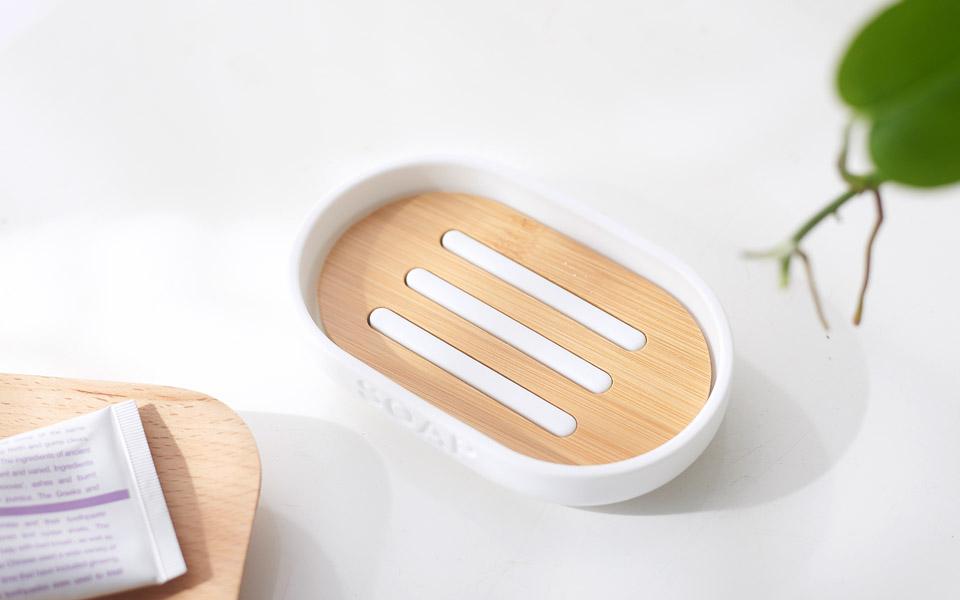 Jabonera de bambú 7