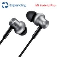 Nieuwe originele xiaomi mi iv hybrid in ear oortelefoon pro oortelefoon mi zuiger 4 dual drivers wired controle met mic voor android iOS