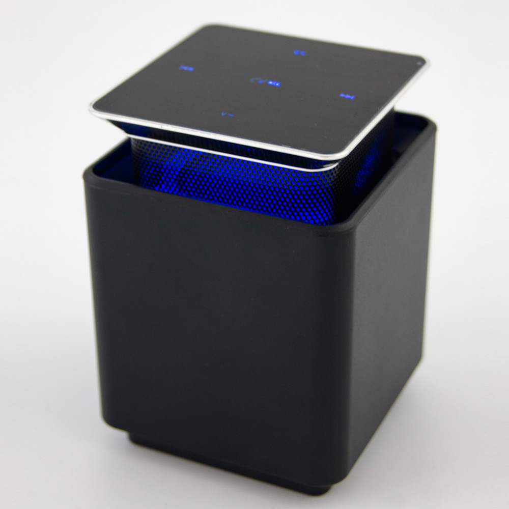Abuzhen Speaker Touch Screen Levitation Mini Wireless Bluetooth Speaker Subwoofer Floating Rotating MP3 Speaker Caixa de Som