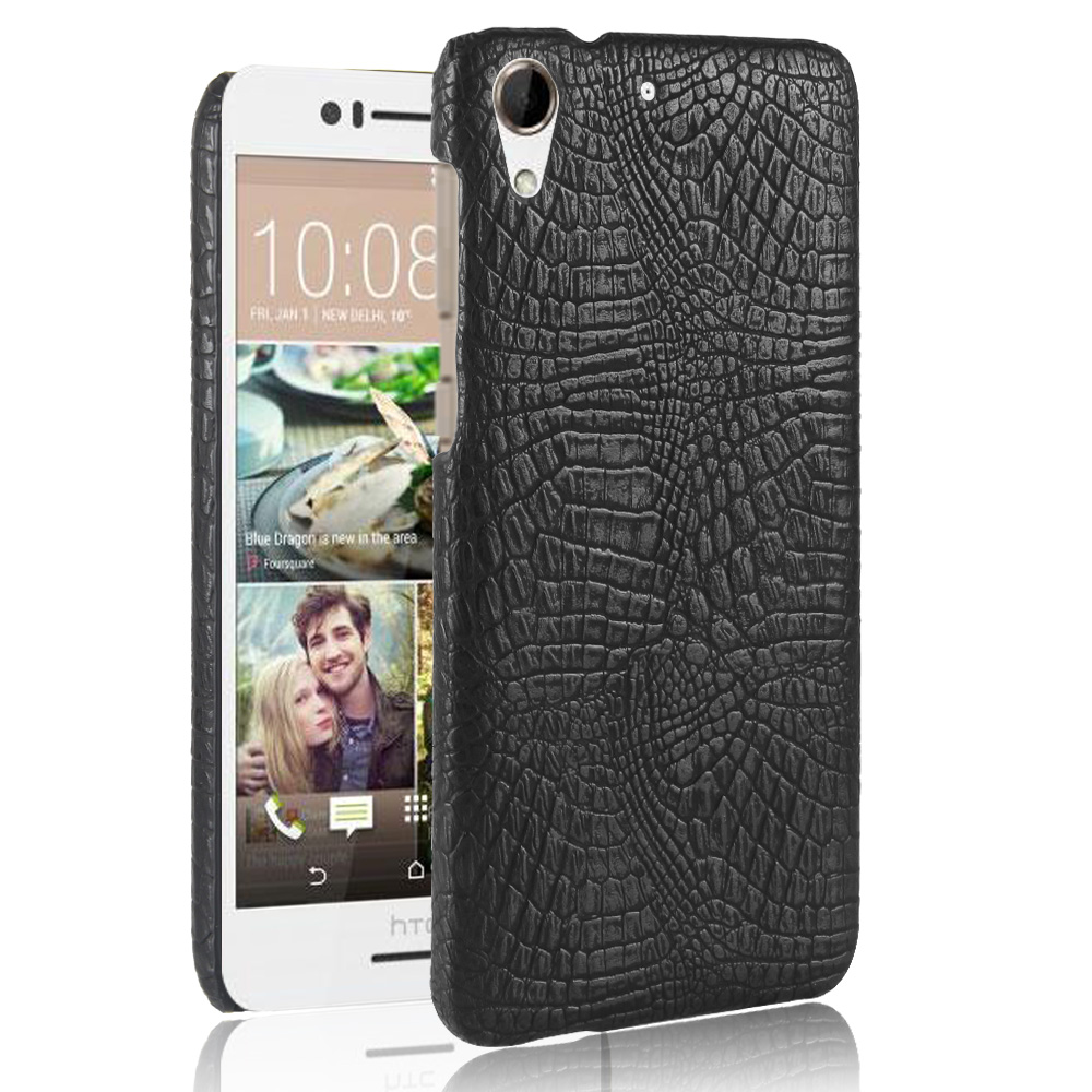 Mobile Phone Bags & Cases For HTC Desire 728 728G Dual Sim D728T D728W Case Luxury Crocodile PU leather Phone Accessories Cover