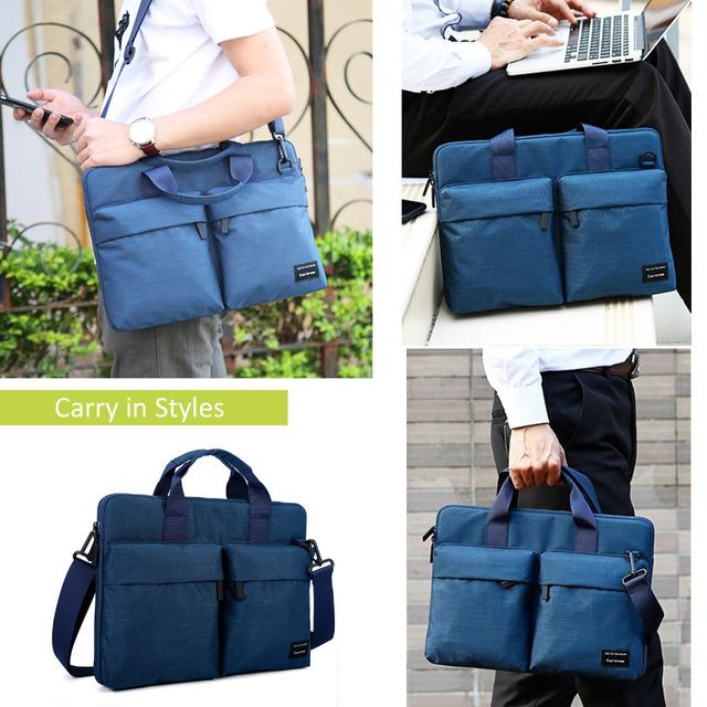 Cartinoe Newest Laptop Bag 11,13.3,14,15.4,15.6 Inch For Macbook Air 13 Case Waterproof Nylon Notebook Bag 13.3/15.6 Inch