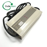 72V 10A 15A Charger For LiFePO4 Li Ion 18650 Pack High Power Smart Charger Scooter Golf