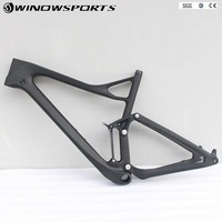 2018 New full suspension 29er Carbon Mtb Frame XC 142x12mm Enduro bikes Carbon mountain frame Mtb frame 29 with Painting